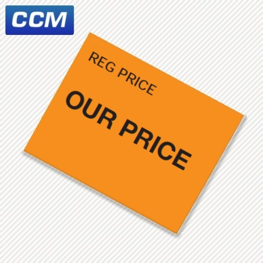 1115 'Reg Price/Our Price' labels