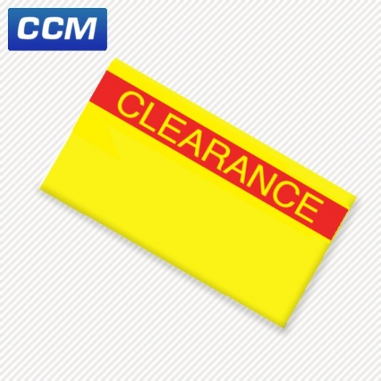1131 'Clearance' labels