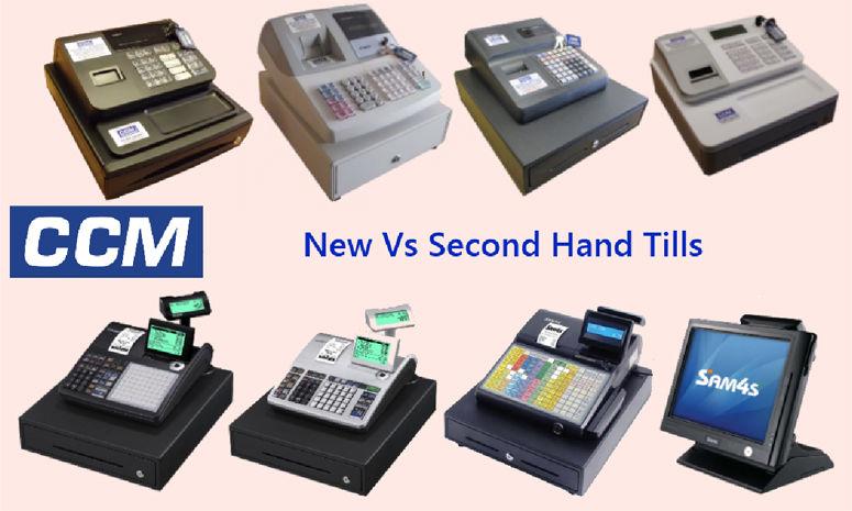 New Vs Second Hand Tills